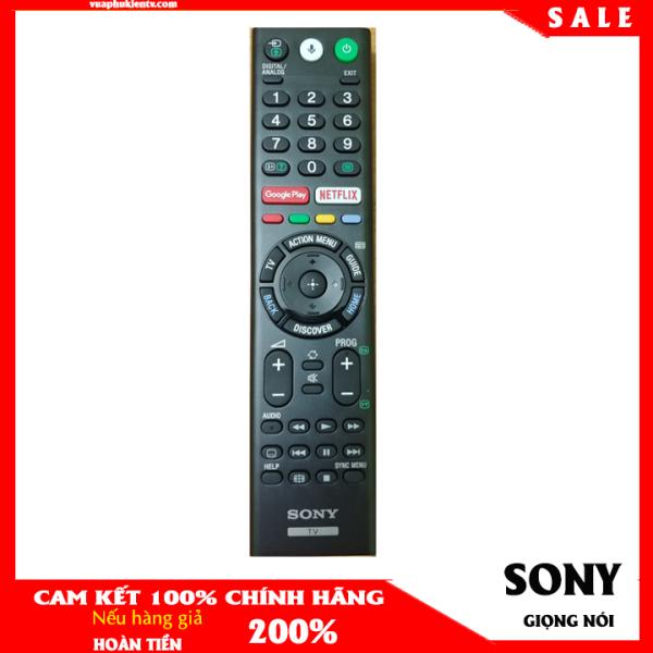 Bảng giá Điều khiển tivi Sony tìm kiếm giọng nói Tiếng Việt màu đen chính hãng RMF-TF300P bảo hành 3 tháng