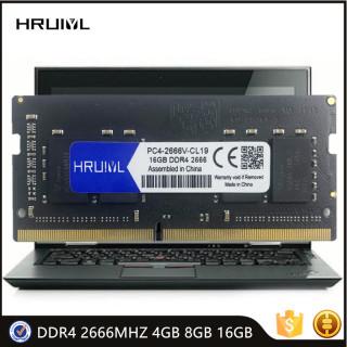 HRUIYL Laptop Memory RAM DDR4 4GB 8GB 16GB 2666MHZ 1.2V DRAM 260 Pin SODIMM High Performance RAM Memoria Module SDRAM New thumbnail