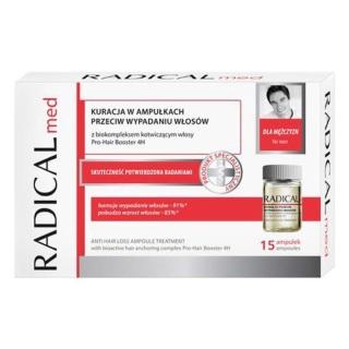 Radical med 3 ống 5ml tinh chất cho nam, sản phẩm được chiết xuất từ thành phần lành tính, đảm bảo chất lượng và an toàn cho người sử dụng thumbnail
