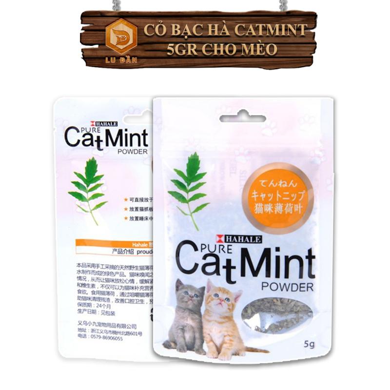 Cỏ Mèo - Cỏ Canip Cho Mèo , Cỏ Bạc Hà Cat Mint Cho Mèo 5Gr
