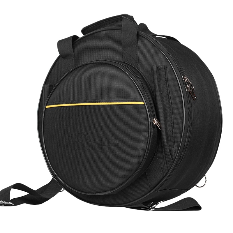 14 Inch Snare Drum Bag Backpack with Shoulder Strap Durable Drum Accessories Percussion Instrument Parts
