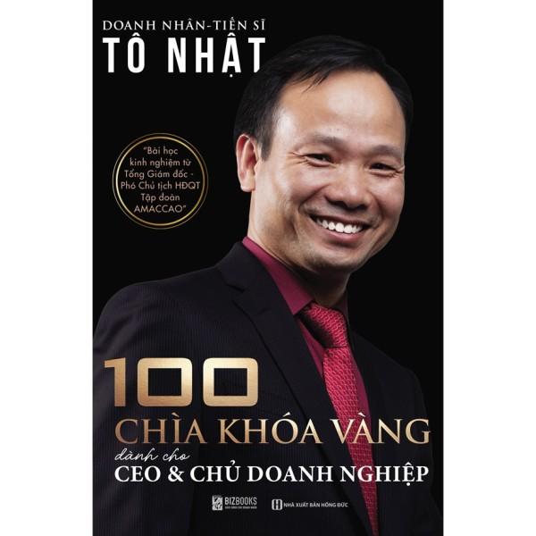 Sách - 100 Chìa khóa vàng dành cho CEO và chủ doanh nghiệp + tặng kèm bút bi
