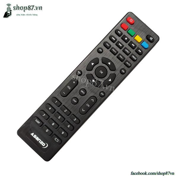 Bảng giá Remote điều khiển tv Asanzo mẫu 7