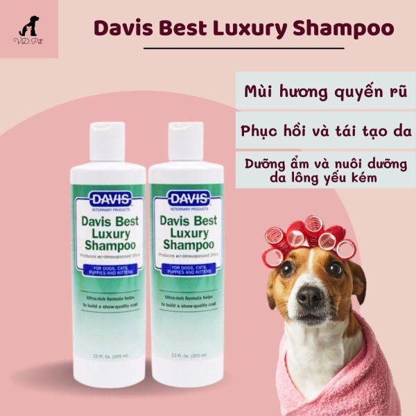 Sữa tắm Davis Best Luxury Shampoo cao cấp