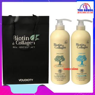 [HCM]Dầu gội xả phục hồi và kích thích mọc tóc Biotin & Collagen 1000ml thumbnail