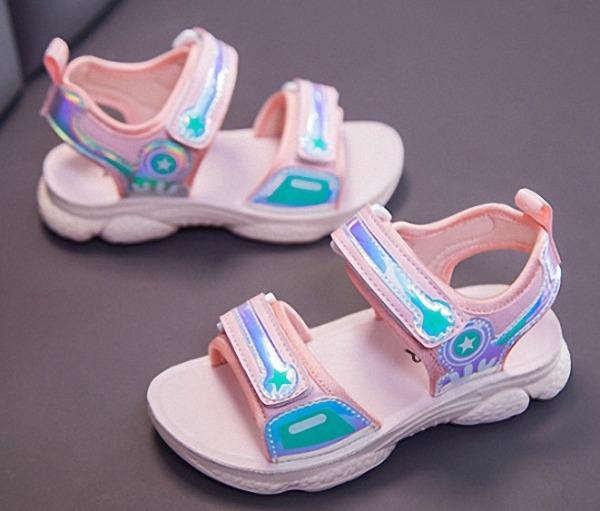 Giá bán Dép sandal bé gái siêu nhẹ phong cách học sinh - SS058