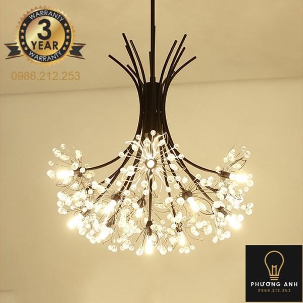 Bảng giá Đèn chùm pha lê phong cách Châu Âu trang trí nội thất phòng khách,phòng ngủ sang trọng hiện đại mã 9320/19 - Phương Anh