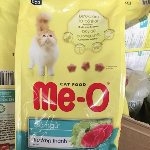 Thức ăn viên hạt Me-O vị cá ngừ 350g Meo mèo - Channsusu Pet Shop