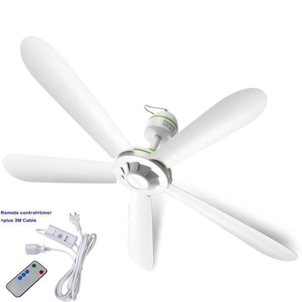 quạt trần điều khiển từ xa Quạt Trần Mini 5 Cánh Công Suất 20W AC220-240V Quạt Treo 50HZ Diamater 70Cm Fan Quạt Mini 27.5 Inch Muỗi Fan Net