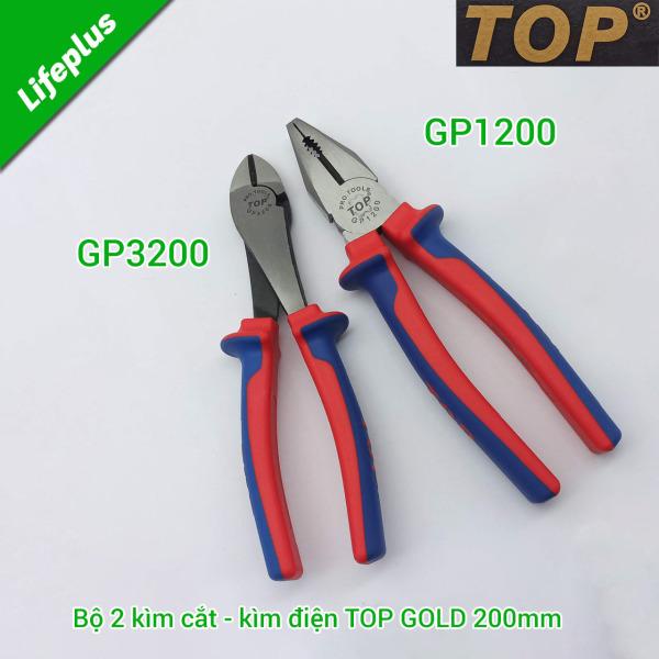 Bộ 2 kìm cắt - kìm điện TOP GOLD 200mm GP1200 - GP3200