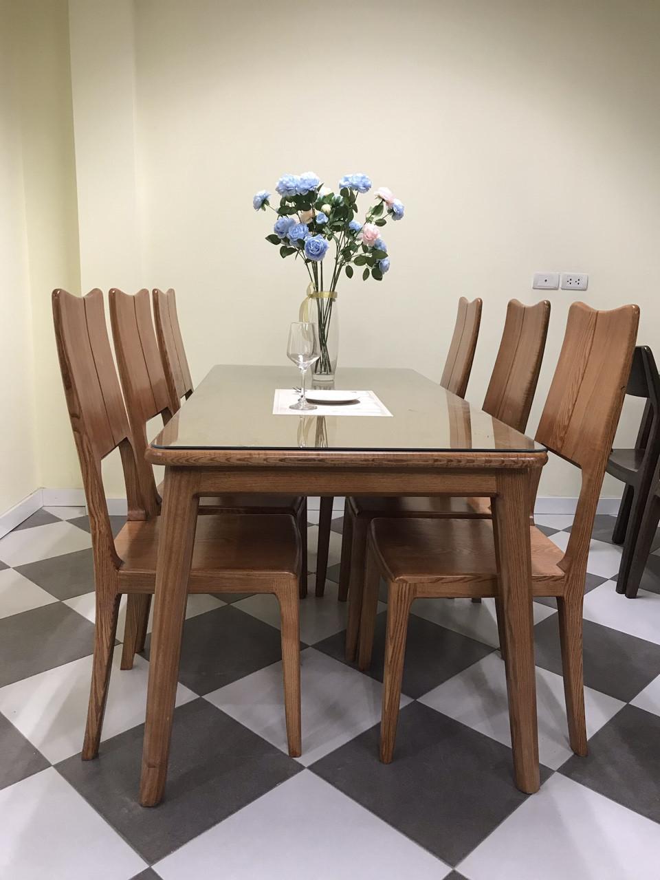bộ bàn ăn 6 ghế Luxyry giá 16.999.000đ giá rẻ