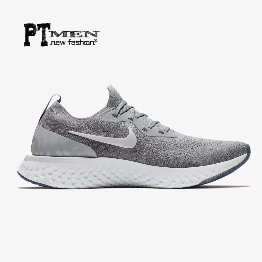Giày Sneaker Epic React Flyknit Silver giá rẻ