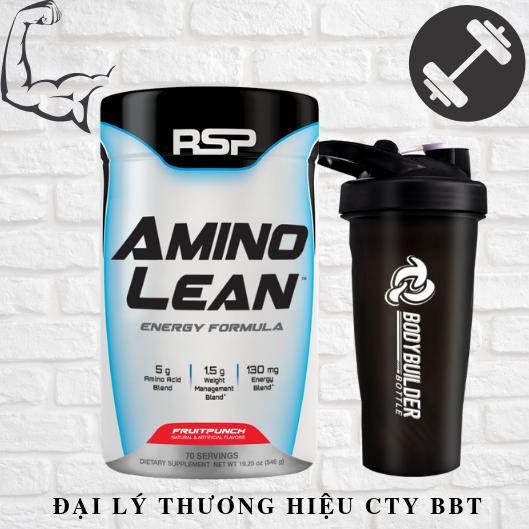 Tiết Kiệm Cực Đã Khi Mua RSP Amino Lean (70 Liều Dùng) Xây Dựng Cơ Nạc - Giảm Mỡ Tự Nhiên