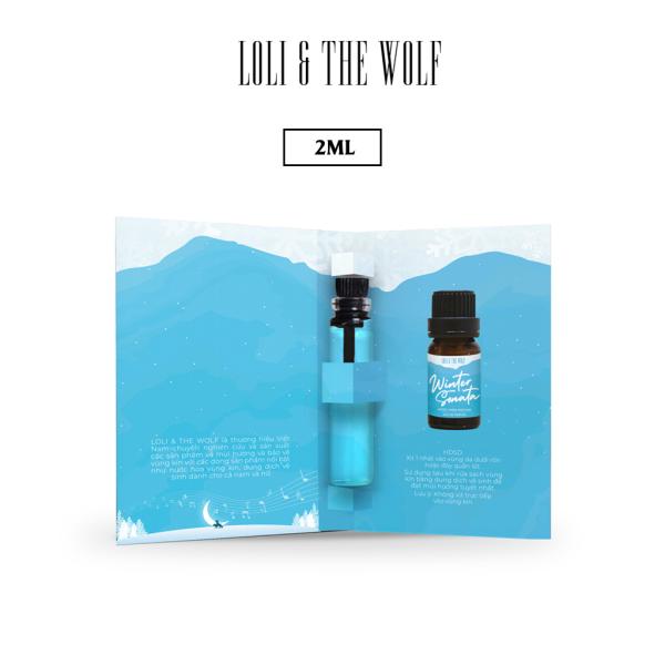 Nước Hoa Mini Cho Vùng Kín Mùi Unisex Eau De Parfum - Winter Sonata - Chai 2ml nhỏ gọn tiện lợi nhập khẩu