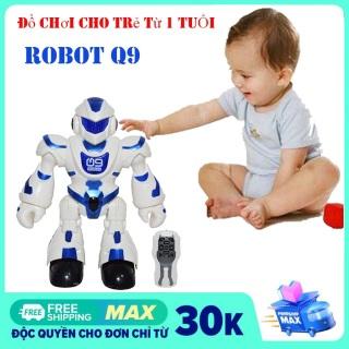 Đồ chơi điều khiển từ xa thông minh Robot Q9 ( Nhiều màu) thumbnail