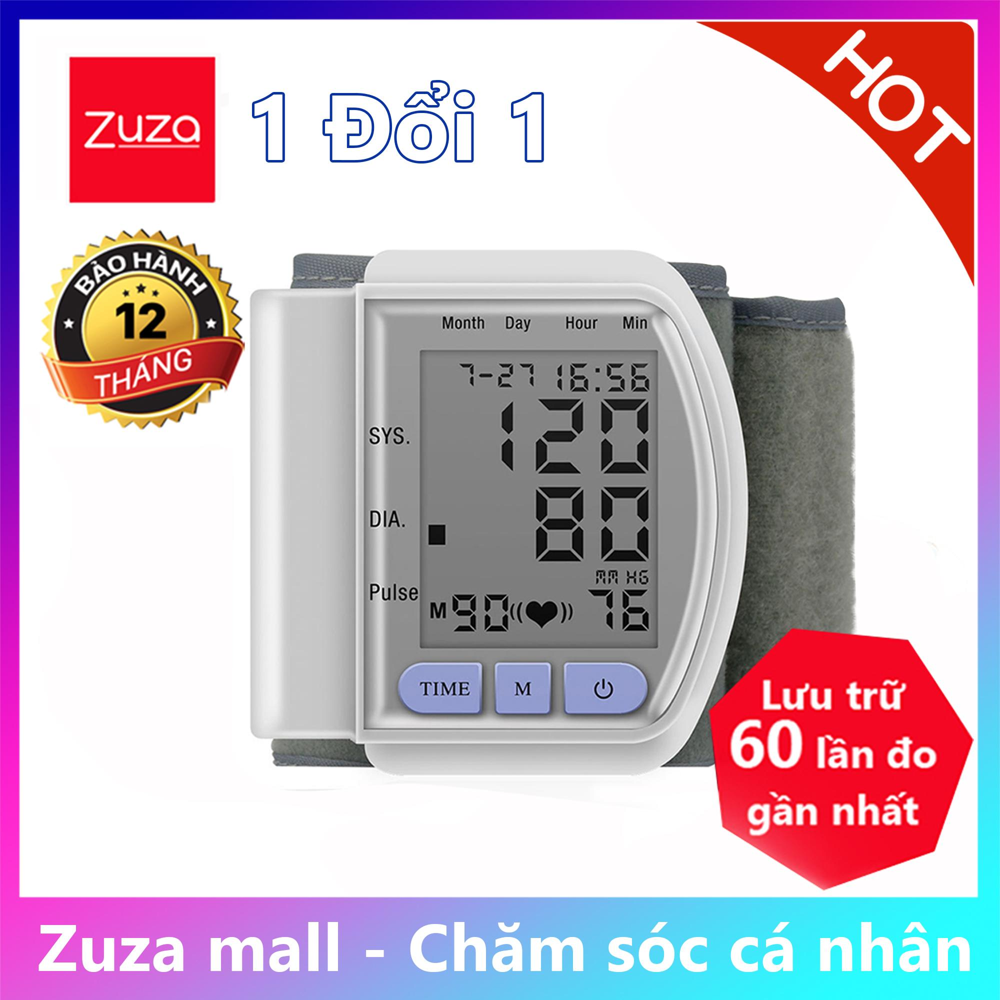 [ BÁC SĨ GIA ĐÌNH] Máy đo huyết áp và nhịp tim CK-102S , máy đo nhịp tim [ ZUZA MALL ]