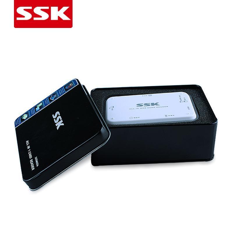 Yu SCRM056 USB3.0 Vàng Trắng Cao Tốc Đa Chức Năng Đầu Đọc Thẻ SD Điện Thoại Thẻ TF MS CF