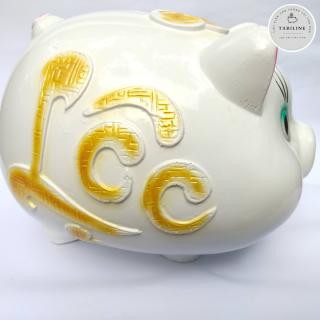Lợn đất tiết kiệm đựng tiền size SIÊU TO cute đẹp giá rẻ TABILINE LD06 5