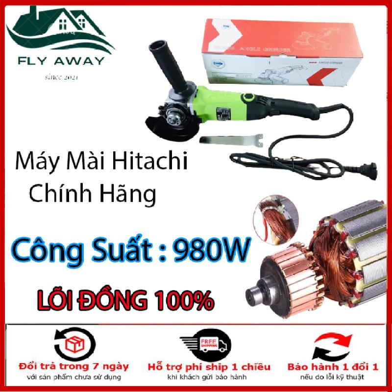 Máy Mài Chính Hãng Hitachi 100% lõi đồng công suất 980w dây dài 2m. Bảo Hành 12 tháng.