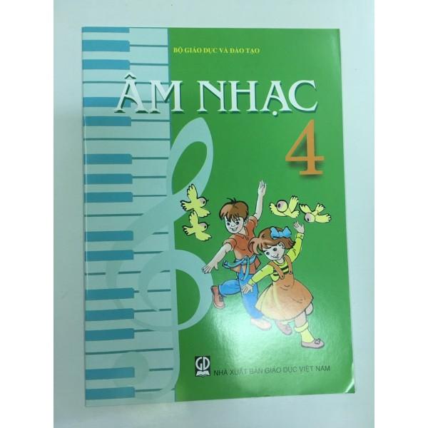 Sách - Âm Nhạc 4 ( Kèm 1 Cây Bút Chì )