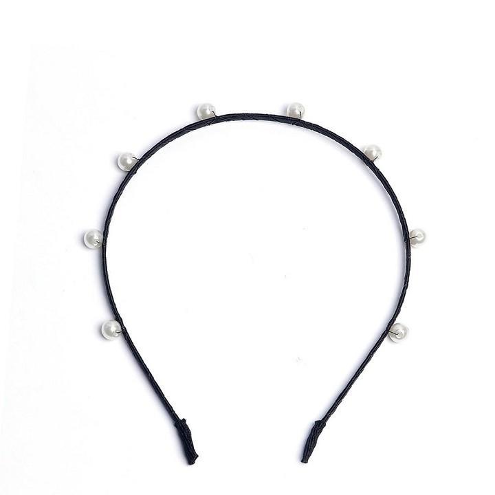 Bờm Tóc Đính Hạt Tiểu Thư - Bờm tóc phong cách Hàn Quốc - Bờm tóc tiểu thư - Bờm tóc siêu xinh - H2vrg001