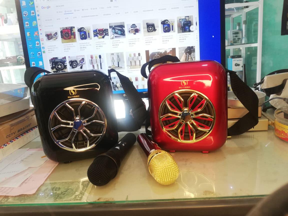 Loa karaoke Bluetooth YS-A20 kèm míc không dây