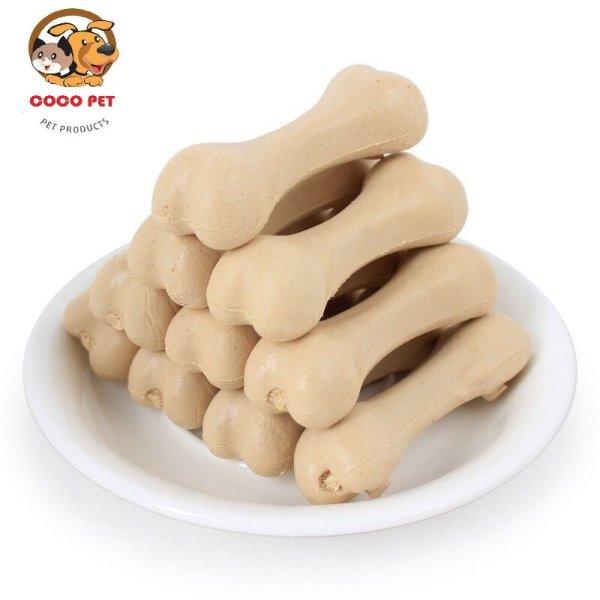 Xương gặm cho chó bổ sung canxi giúp sạch răng được sản xuất từ các nguyên liệu an toàn