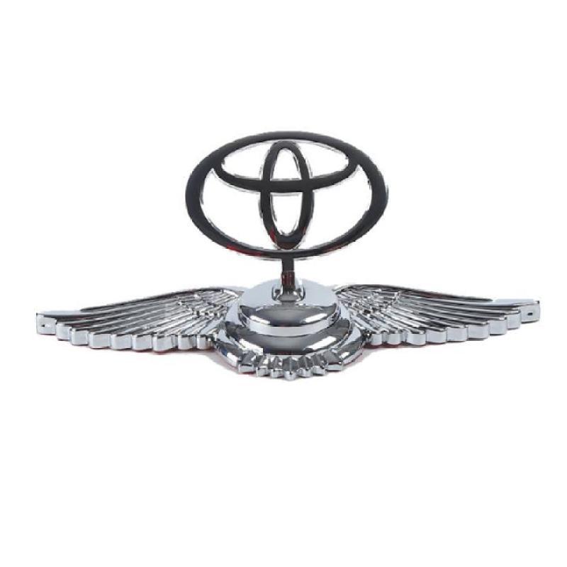 Logo biểu tượng gắn đầu xe ô tô, xe hơi cao cấp hãng xe TOYOTA