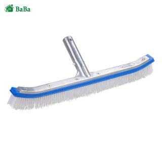 BaBa Pool Brush Head 18 Aluminium Swimming Pool Strong Cleaning Brush Walls Tiles Floors Clean Tools thumbnail