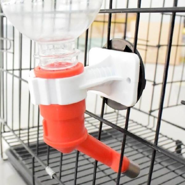 Vòi nước uống gắn chuồng bán tự động cho CHÓ - MÈO