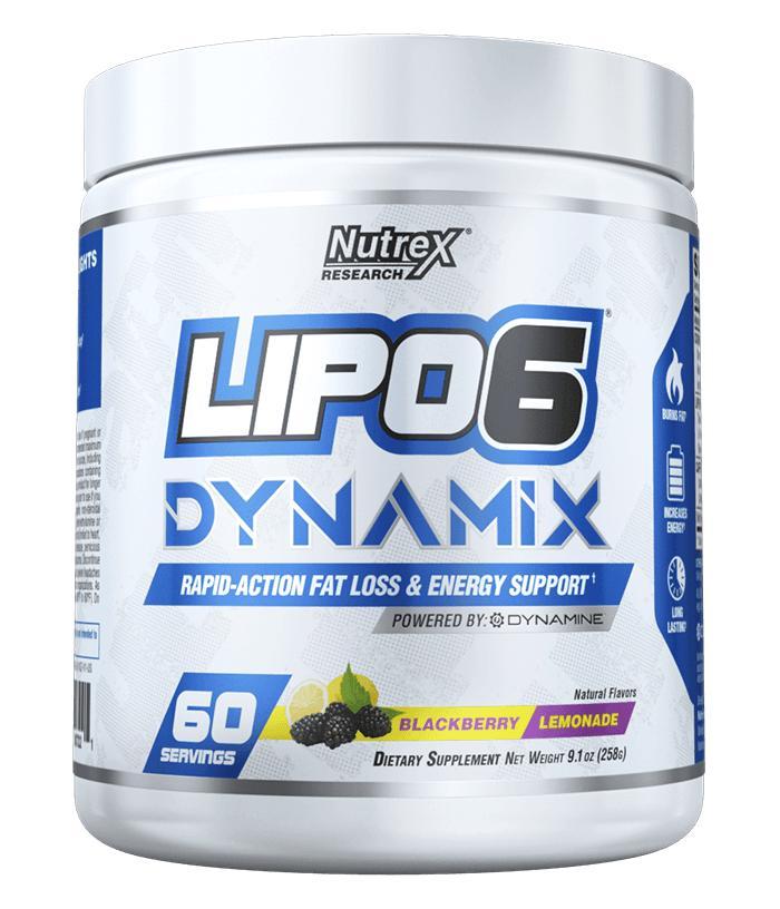 Lipo6 Dynamix – Pre-Workout Kết Hợp Đốt Mỡ 2 In 1 (60 Serving). Hổ trợ tăng sức mạnh kết hợp đốt mỡ+ QUÀ TẶNG nhập khẩu