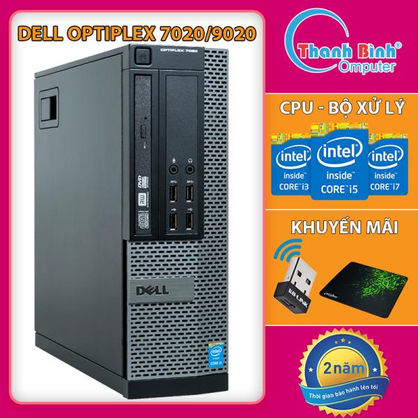 Máy Tính Để Bàn Đồng Bộ Dell Optiplex ( 7020/9020 I3 I5 I7 ) - Máy Tính Văn Phòng - Bảo Hành 24 Tháng - Tặng USB Wifi Và Bàn Di.
