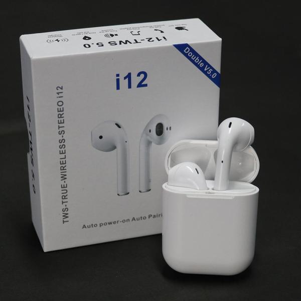 Bảng giá (Tặng 1 Khâu Trang Y Tế Kháng Khuẩn)Tai Nghe Bluetooth 5.0 I12 Tws, Tai Nghe Bluetooth Không Dây I12 Tws, Tai Nghe Bluetooth Bảo Hành 12 Tháng, Lỗi 1 Đổi 1 Trong 30 Ngày Đầu Ta... Phong Vũ
