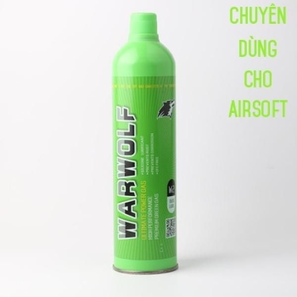 Green Gas Warwolf Bình Lớn 1700ML Chuyên Dùng Cho Airsof.t Nén Khí Hơi Mạnh Hàng Cao Cấp Chính Hãng Nhập Khẩu Mỹ