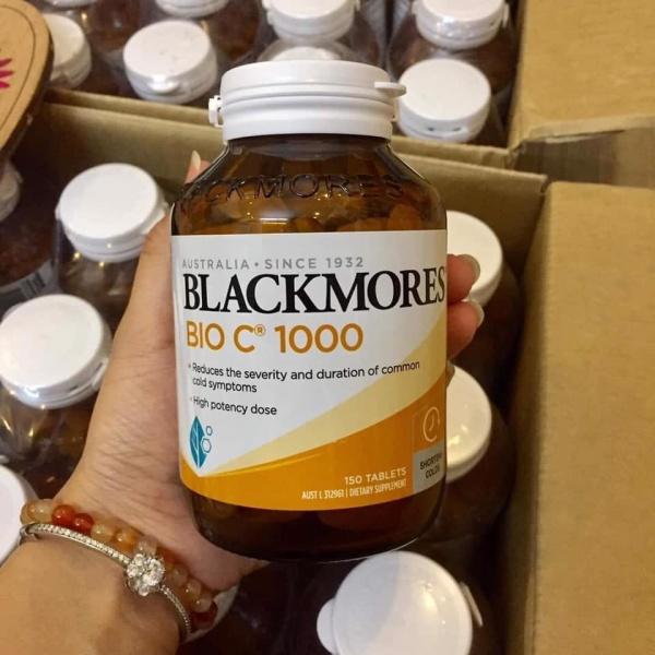 Viên uống bổ sung Vitamin C 150 viên Blackmores Bio C 150 viên