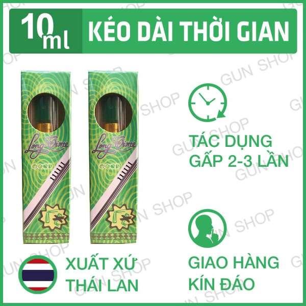 Combo 2 Chai Xịt Longtime lanh  Kéo Dài Thời Gian Cao Cấp - Thái Lan - Che tên sp khi giao hàng cao cấp