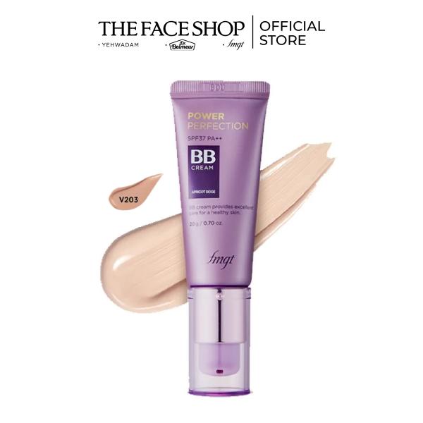 Kem Nền Đa Năng THEFACESHOP Power Perfection BB Cream SPF37 PA++ V103 20g giá rẻ