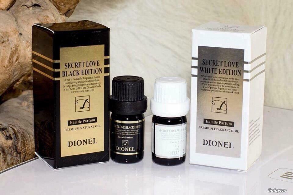 (GIAO HÀNG TÊ NHỊ) Nước Hoa Vùng Kín Dionel Secret Love Edition 5ml nhập khẩu