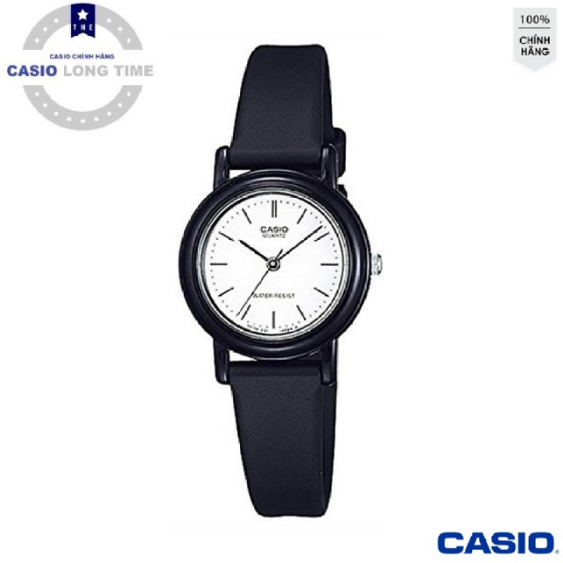 [Ủy Quền Bởi Casio Anh khuê] Đồng hồ nữ dây da Casio LQ-139BMV-7ELDF mặt trắng , kim đen - Tuổi Thọ Pin 3 Năm- Chống Nước , đồng hồ nam , đồng hồ kim , đồng hồ nữ , đồng hồ chống nước