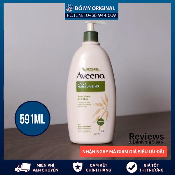 Sữa dưỡng thể dành cho da khô Aveeno Daily Moisturizing Lotion 591mL Hàng Nhập Mỹ giá rẻ