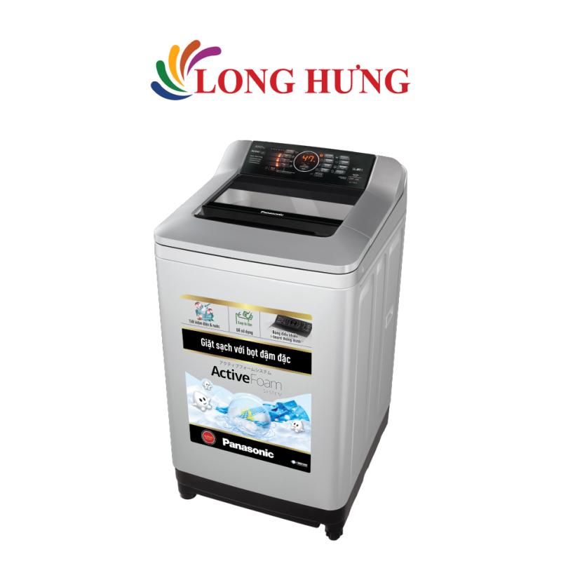 Bảng giá Máy giặt Panasonic 10.0 Kg NA-F100A4GRV - Hàng chính hãng - Lồng giặt Sazanami, Công nghệ Active Foam, Công nghệ xả nước Aqua Spin Rinse và tự vệ sinh lồng giặt Điện máy Pico