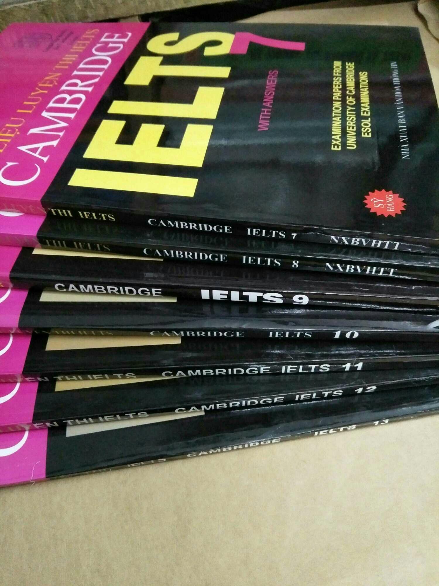 Mã Giảm Giá tại Lazada cho Combo Tài Liệu Luyện Thi Cambridge IELTS Từ Tập 7 đến Tập 13 -  được Chuẩn Bị Bởi Cambridge English Language Assessment.