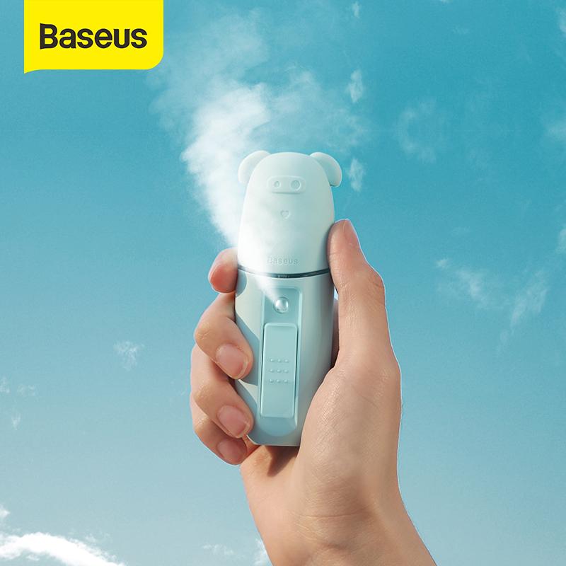 Baseus 15ml Portable Humidifier Cute Style Handheld Sprayer Nano Facial Body Humidifier for Summer