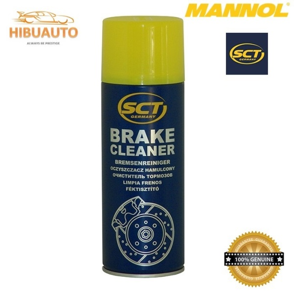 Chai Vệ Sinh Hệ Thống Phanh Xe 2 Bánh, 4 Bánh MANNOL 969251 SCT-Brake Cleaner 450ML Bremsenreiniger – HIBU AUTO