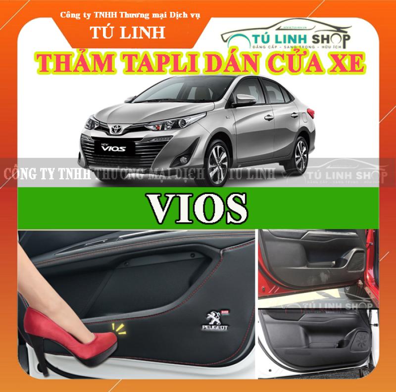 Bộ 4 Thảm Tapli dán cánh cửa chống trầy xước xe VIOS 2019-2020