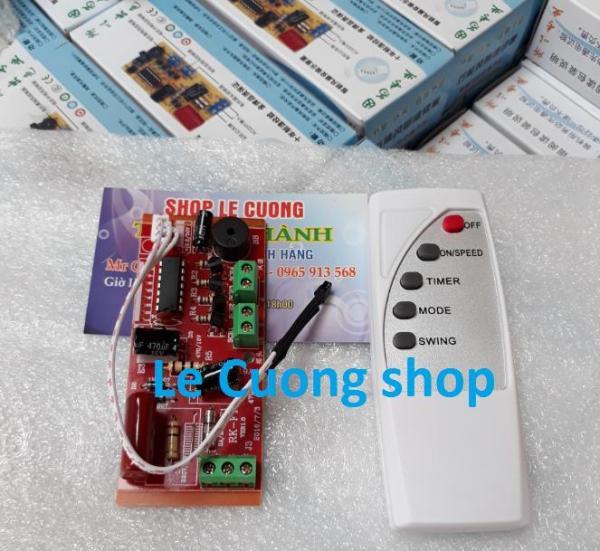Bộ mạch điều khiển từ xa cho quạt ,Mạch quạt,mạch điều khiển quạt từ xa, mạch điều khiển quạt, bo mạch điều khiển quạt có cầu chì, quạt điều khiển từ xa, công tắc điều khiển từ xa