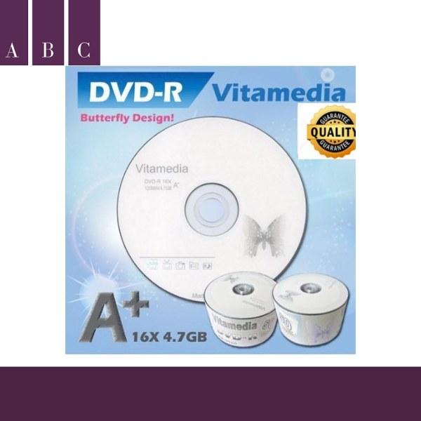 Bảng giá [HOTHOTHOT] Đĩa dvd trắng ,Đĩa trắng DVD Vitamedia 1 lốc 50 cái 4.7G . Phong Vũ