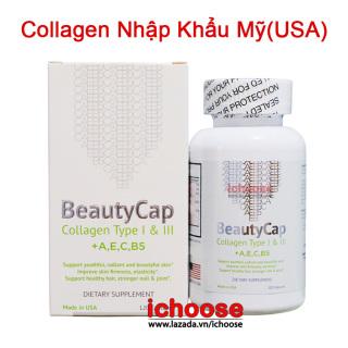 Collagen +AEC B5 12000MG USA (Hộp 180 viên) - Viên uống đẹp da, ngăn ngừa lão hóa thumbnail