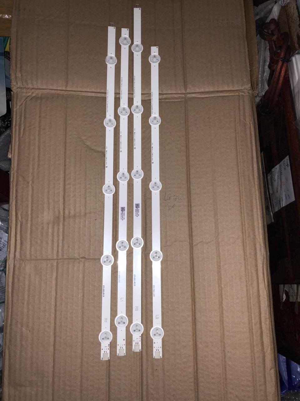 Bảng giá thanh led TIVI LG 50 inch bóng bé 4 thanh 20 bóng