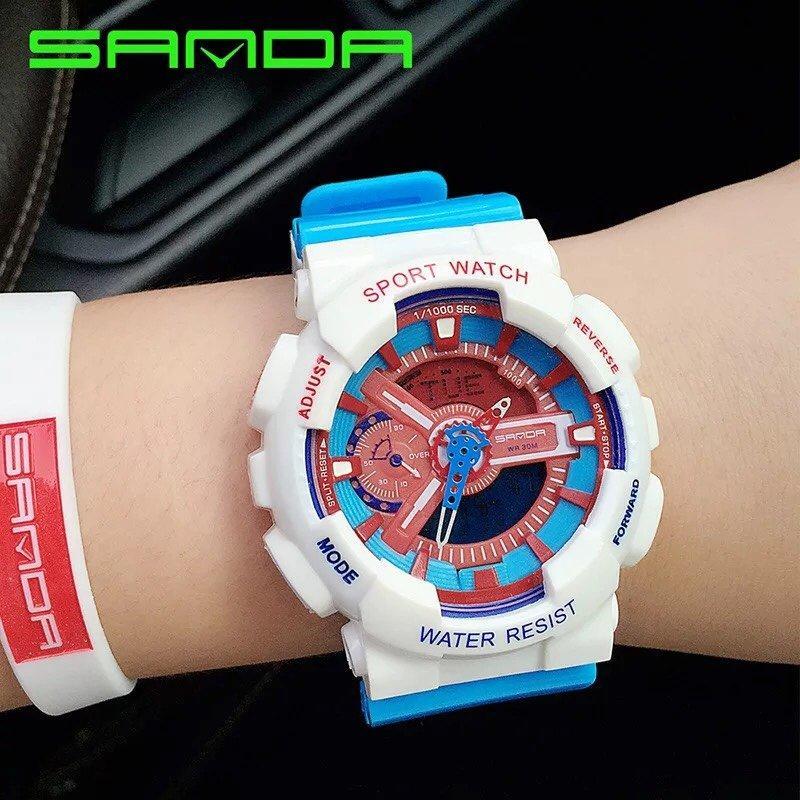 Nơi bán Đồng Hồ Thể Thao Nữ Sport Watch Samda (Ảnh Thực Tế 100%, Bảo Hành Free 12 tháng).